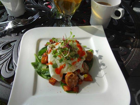 Biltmore Village Inn : Delicious breakfast!