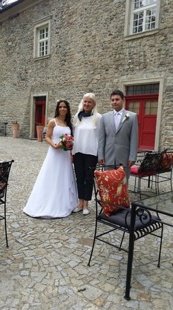 Chateau Heralec - Boutique Hotel & Spa by L'OCCITANE: with owner of chateau