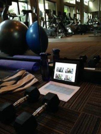 L'Hermitage Hotel: Gym