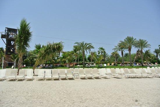 Atlantis, The Palm : Пляж у аквапарка