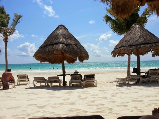 Secrets Maroma Beach Riviera Cancun: Beach area