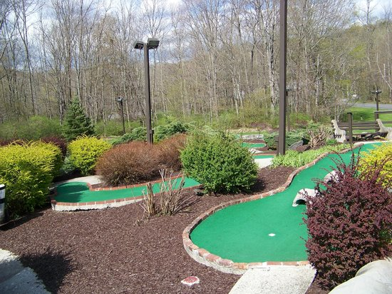 Wyndham Shawnee Village Resort: Part of mini golf course