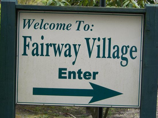 Wyndham Shawnee Village Resort: Fairway Village entrance