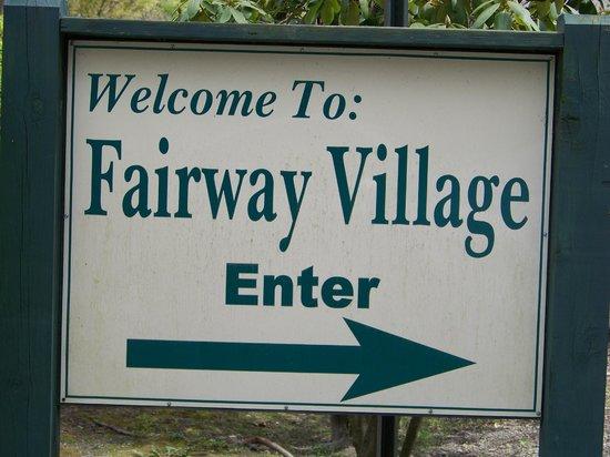 Wyndham Shawnee Village Resort : Fairway Village entrance