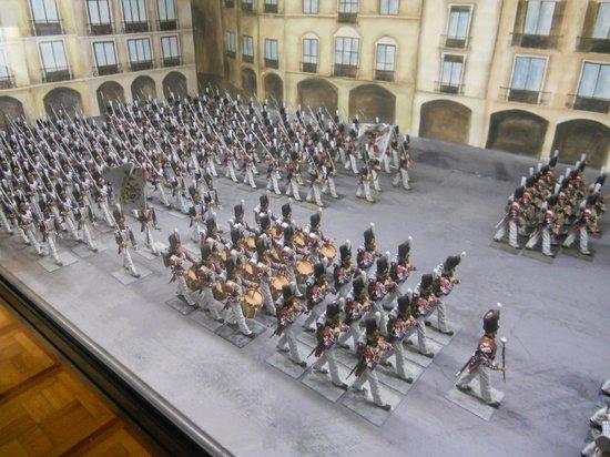 L'Iber Museo de Los Soldaditos de Plomo: Desfile