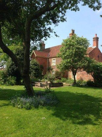 The Village, Church Farm: Orchard view of the farmhouse