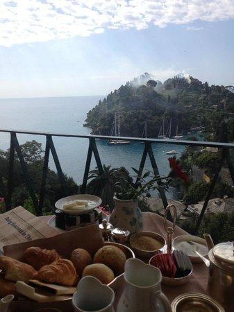 Belmond Hotel Splendido: View from the terrace