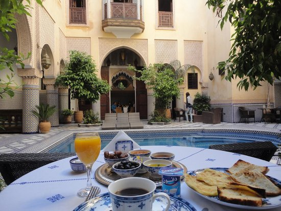 Riad Salam Fes : 朝食2