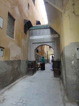 Riad Salam Fes : 目印
