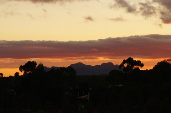 Ayers Rock Campground : Kata Tjuta from the Imalung lookout