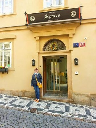 Appia Hotel Residences : In front of entrance