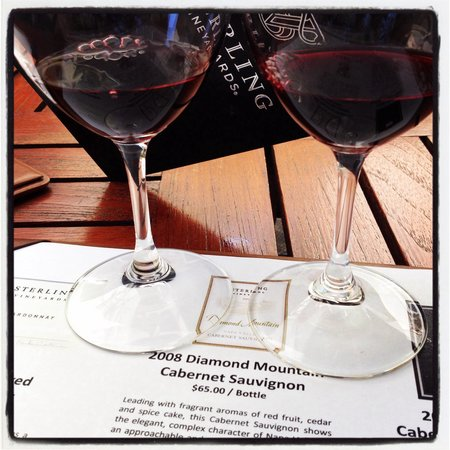 Sterling Vineyards: Silver experience tasting!