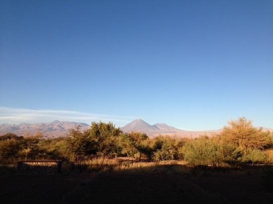 Tierra Atacama Hotel & Spa: View from bedroom window.