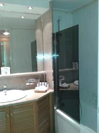 Divani Caravel Hotel: bathroom in a standard room