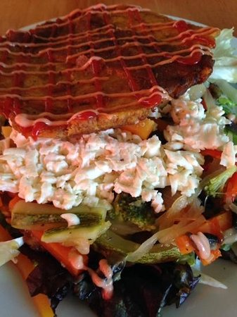 Kaxapa Factory: vegetarian patacone