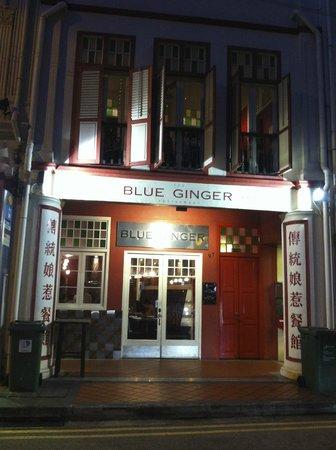 The Blue Ginger Restaurant: Blue ginger da vicino!