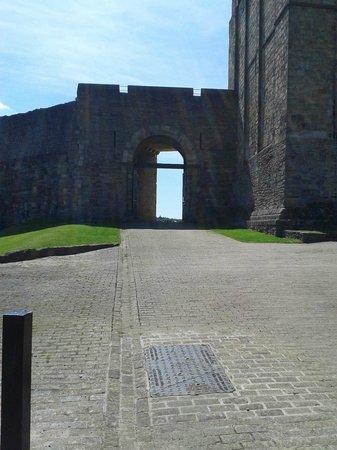 Richmond Castle: The Entrance to the Castle