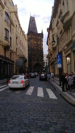 Central Hotel Prague : До Пороховых ворот 5 минут ходьбы!
