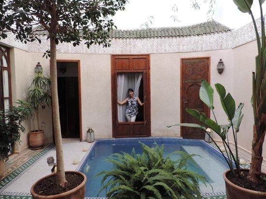 Riad de la Belle Epoque: Nuestra habitación en PB La Bella Otero