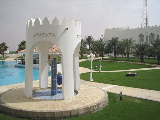 Liwa Hotel : Pool area