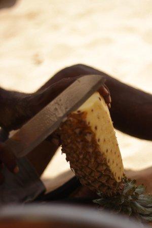 Kingfisher: ananas in spiaggi (ambulante)
