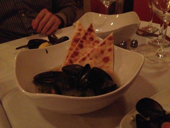 Inglenook: PEI Mussels
