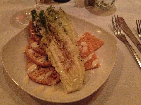 Inglenook: grilled ceasar salad