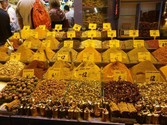 Egyptian Bazaar : especias