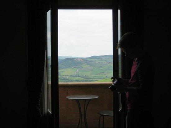 Piccolo Hotel La Valle Pienza: view from the room