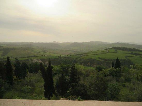 Piccolo Hotel La Valle Pienza : in the morning