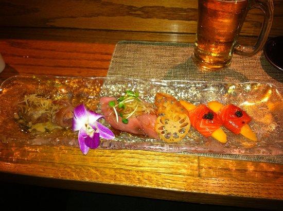 Kanpai Sushi Bar and Grill: SUSHI