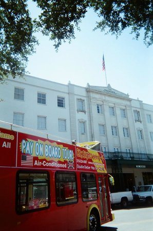 City Sightseeing San Antonio: Departing from The Alamo by The Menger Hotel