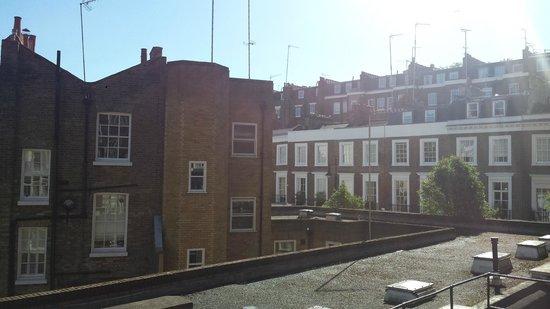 Hanover Hotel Victoria : Ausblick aus dem Fenster