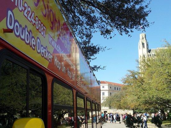 City Sightseeing San Antonio: At Alamo Plaza