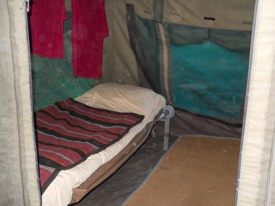Okavango Delta: Inside the tent