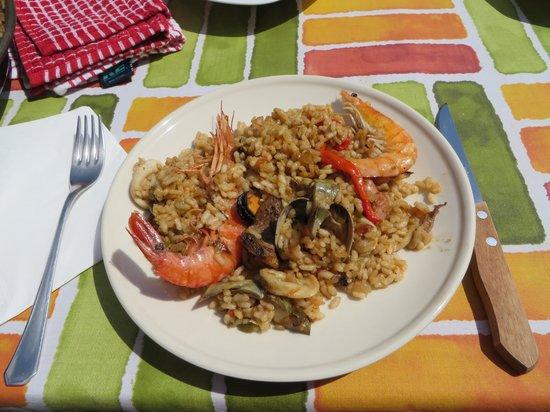 Clases privadas de paella con Marta: Delicious!