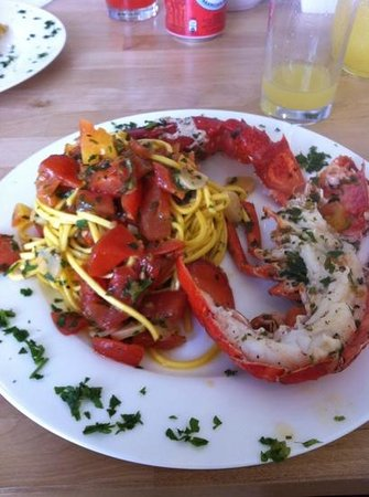 Ciao Belli: amazing pasta with fresh lobster