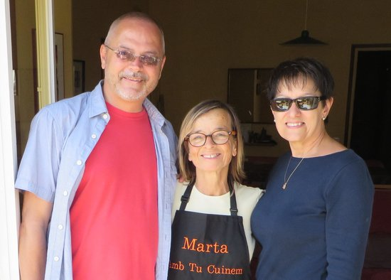 Marta's Private Paella Cooking Classes: Our hostess, chef, and teacher ... Marta