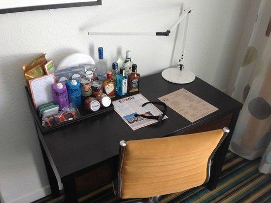 Hotel Erwin: la scrivania