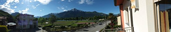 Sorico, Italie : Panoramic view outside