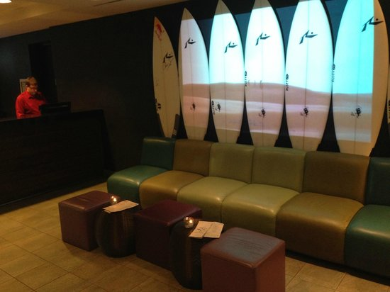 Hotel Erwin: lobby
