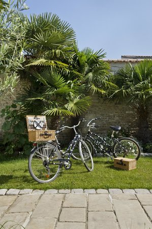 La Villa Clarisse : Balade à vélo et pique nique