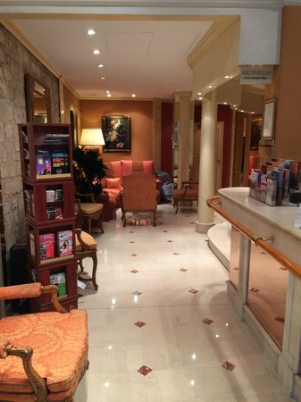 Hotel Le Régent : Recepção