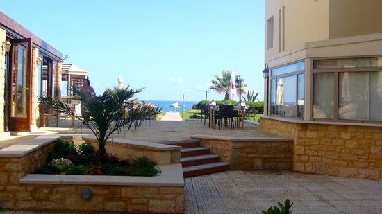 Iperion Beach Hotel: vue du balcon