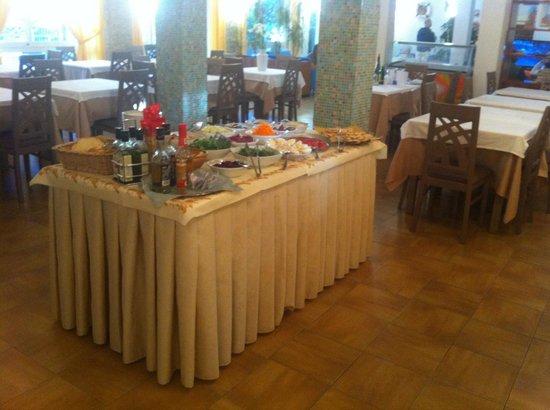 Hotel Brigantino : Buffet