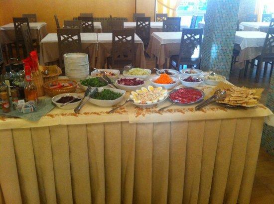 Hotel Brigantino : Cena, buffet