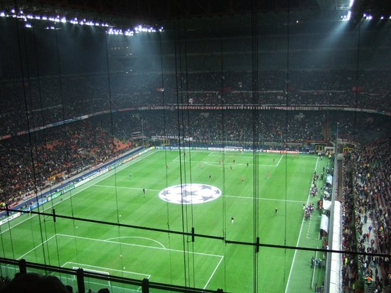 Stadio Giuseppe Meazza (San Siro) : View from our seats
