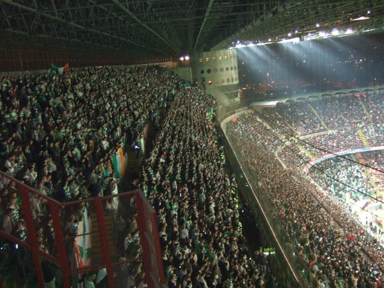 Stadio Giuseppe Meazza (San Siro) : Celtic Supporters
