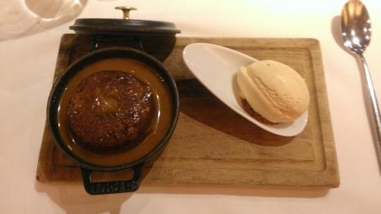 James Martin Manchester: sticky toffee pudding