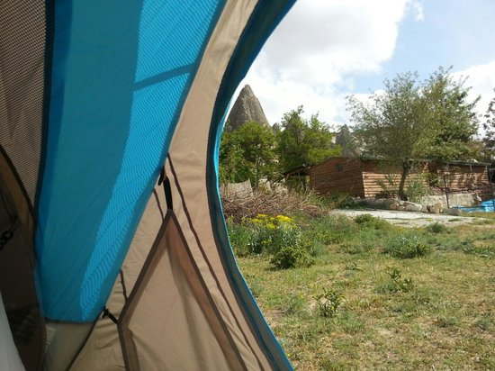 Dilek Camping: Inside to outside